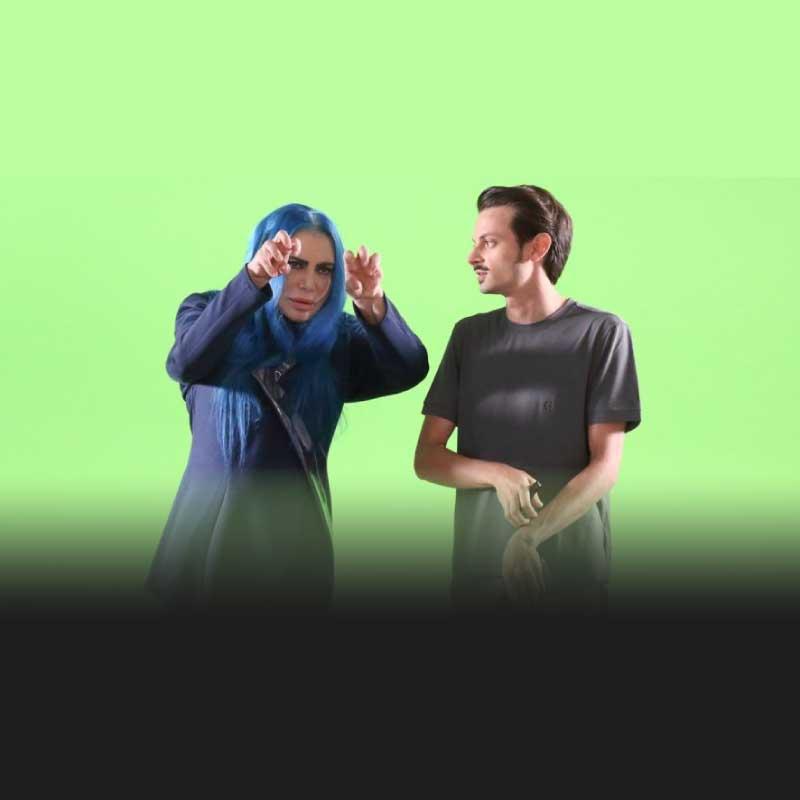 loredana bertè e rovazzi backstage video ''senza pensieri''