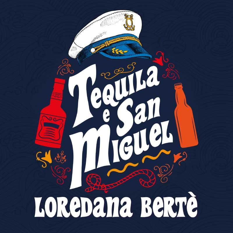 copertina tequila e san miguel loredana bertè