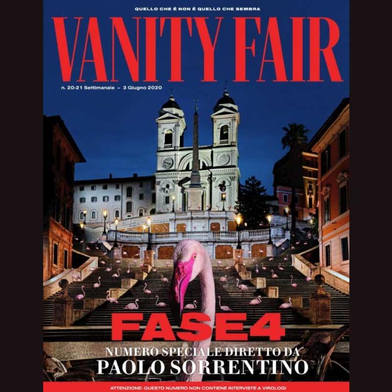 copertina del numero di giugno di vanity fair
