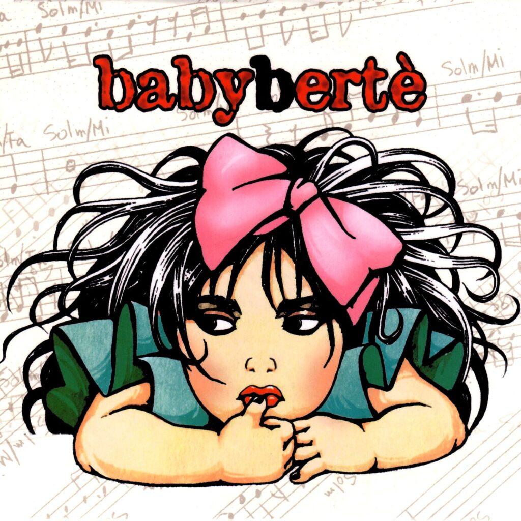 loredana bertè copertina babybertè