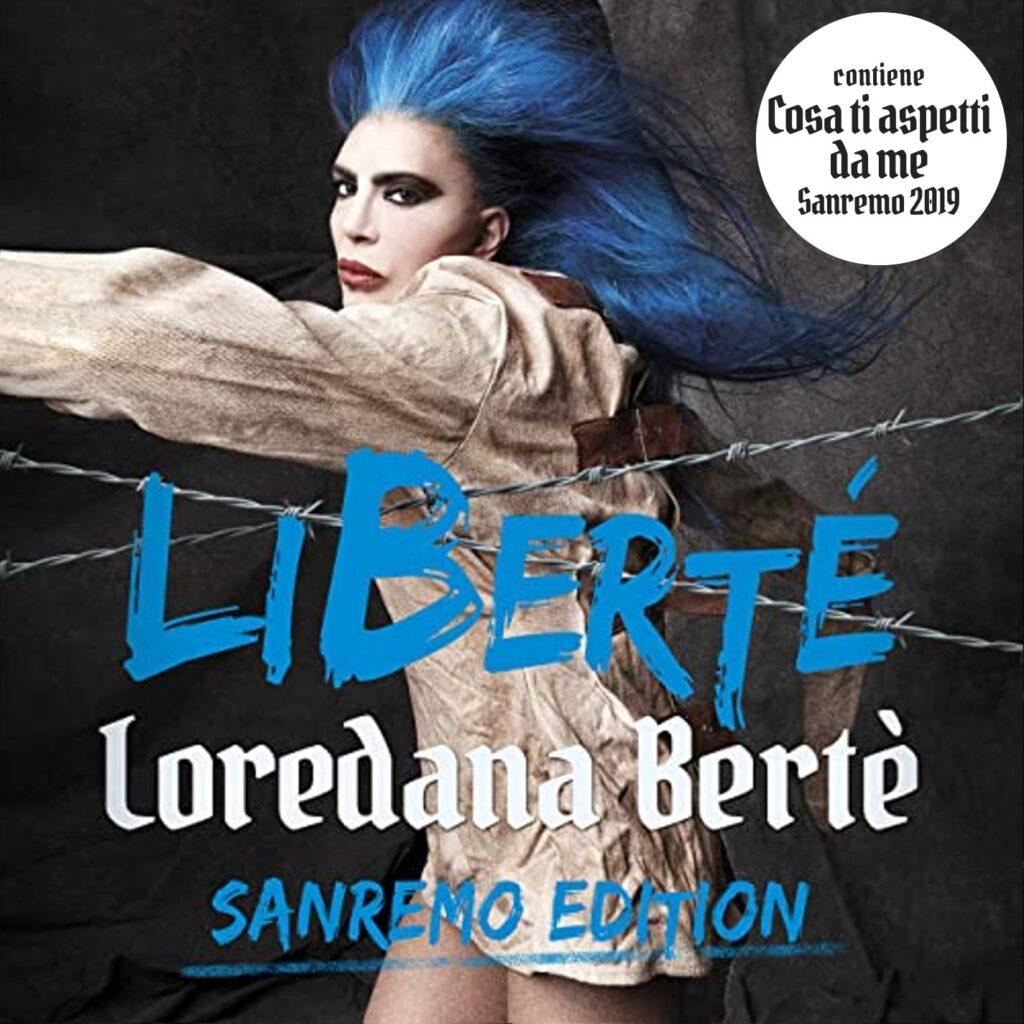 loredana bertè copertina libertè san remo edition