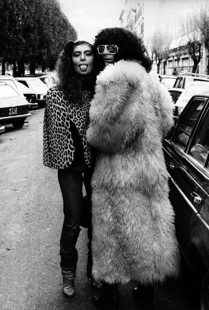 loredana bertè con renato zero in strada 1970