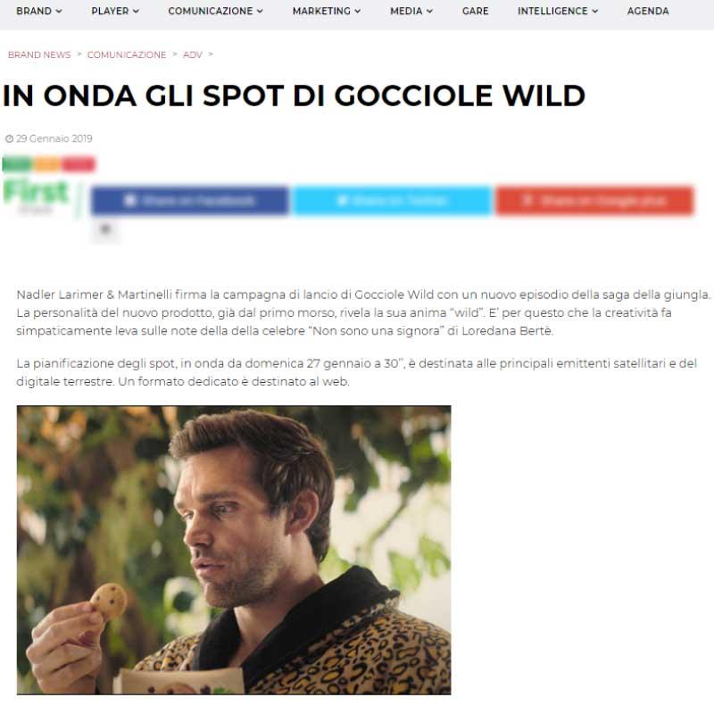 gocciolewild
